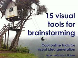 7 ideas inspiratie : 15 handige gratis tools om visueel te brainstormen.