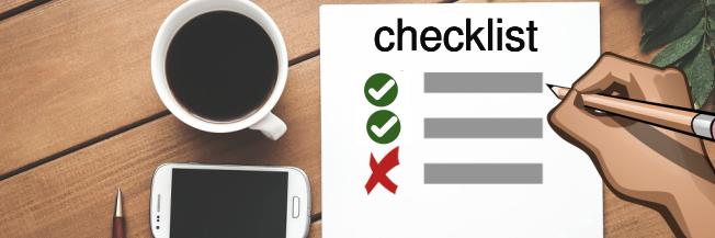 Checklist om je nieuwsbrief te versturen