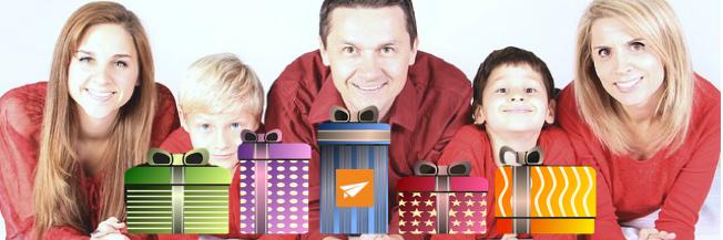 De feestdagen nieuwsbrief