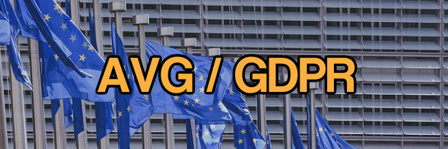 Algemene Verordening Gegevensverwerking (AVG / GDPR)